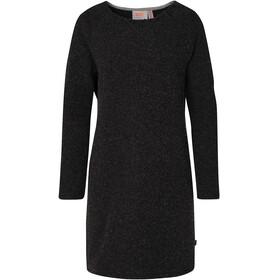 Varg W's Fårö Long Wool Dress Dark Anthracite